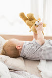 Very beautufil cute baby boy Stock Image