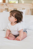 Very beautufil cute baby girl Royalty Free Stock Photography