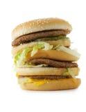 Very big hamburger Royalty Free Stock Image