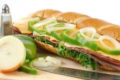 Very Big Sandwich Stock Image
