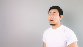 Very boring face and pose. Stock Photography