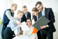 Very busy female CEO Stock Photos