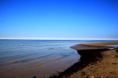 Very calm Baltic Sea. stock photography