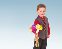 Very cheerful little boy Stock Photography