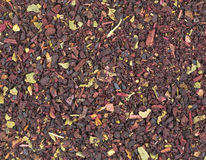 Close view blueberry tea Royalty Free Stock Image