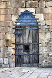 Very closed door royalty free stock photos