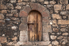 Very closed door Royalty Free Stock Photos