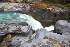 Very cold  falls Stock Photo