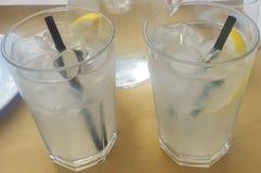Very cold lemonade stock photo