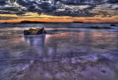 Free Very Colorful Seascape Royalty Free Stock Photo - 23746165