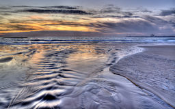 Very colorful seascape image with lovely colours Stock Images