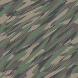 Forest / Jungle Camouflage Abstract Seamless Repeating Pattern Vector Illustration stock photography