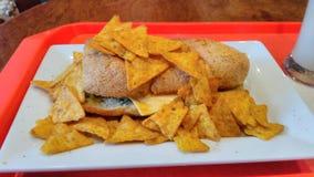 Ccd crunch with nacho stock photos