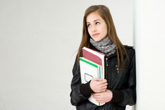 Very cute young student. Stock Photos