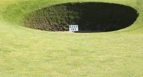 Very deep bunker Royalty Free Stock Photo