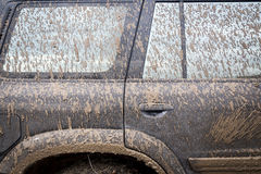 Very Dirty Car Royalty Free Stock Photos