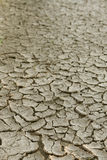 Very Dry Cracked Soil. Stock Photography