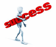 It is very easy to success. Should be persistent Stock Photos