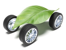 Very ecological car Stock Image