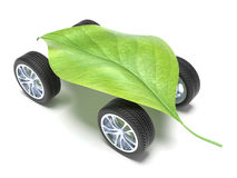 Very ecological car Stock Photos