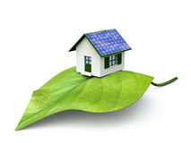 Very ecological house Stock Photo