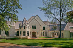 Very Expensive Mansion Stock Image
