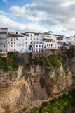 Very famous bridge in Ronda Stock Image
