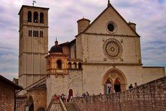 Church of San Francesco in Assisi stock photos