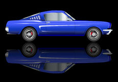 Very Fast Car Royalty Free Stock Images