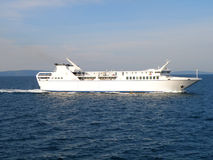 Very fast ferry boat Stock Photo