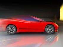 Very fast sport car royalty free stock photos