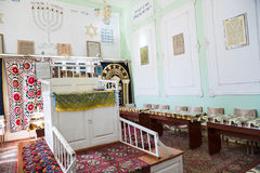 Very first synagogue in Bukhara, Uzbekistan Stock Photos