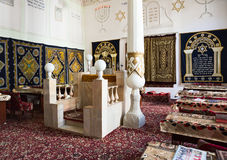Very first synagogue in Bukhara, Uzbekistan Royalty Free Stock Image
