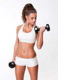 Very fit beauty. Stock Images