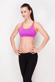 Very fit and slender. Stock Photos