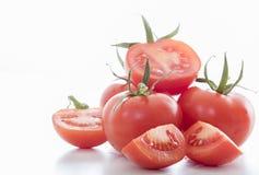 Very fresh tomatoes Royalty Free Stock Photos