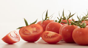 Very fresh tomatoes Stock Images