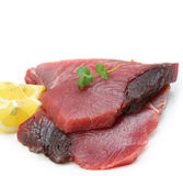 Very fresh tuna steak Royalty Free Stock Photography