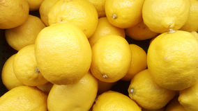 Very fresh yellow lemon Stock Photo
