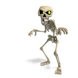 Very funny cartoon skeleton Royalty Free Stock Images