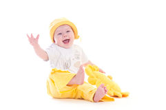 Very funny kid Stock Photo
