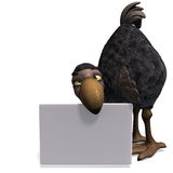 Very funny toon Dodo-bird Stock Photography