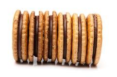 Chocolate cookies Stock Image