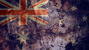 Free Very Grungy Australian Flag, Australia Grunge Background Texture Royalty Free Stock Images - 133620689