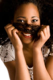 Very Happy African Girl Royalty Free Stock Image