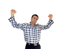 Very happy Businessman. Stock Images