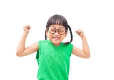 Very happy child Stock Images