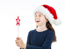 Very Happy Christmas Stock Photo