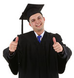 Very happy graduate Stock Photo