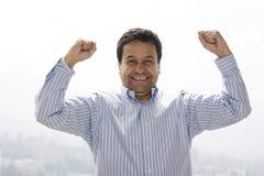 Very happy man Royalty Free Stock Photo